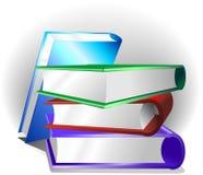 De Achtergrond van boeken Stock Fotografie