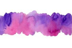De achtergrond van de de borsteltextuur van de waterverfkunst Stock Fotografie