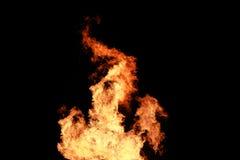 De achtergrond van brandvlammen Royalty-vrije Stock Foto