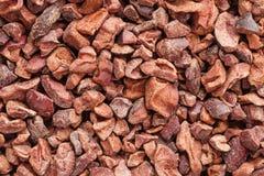 De Achtergrond van cacaobonen royalty-vrije stock foto's