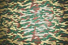 De Achtergrond van de camouflagestof stock fotografie