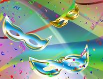 De achtergrond van Carnaval Stock Afbeeldingen