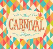 De achtergrond van Carnaval funfair Stock Afbeeldingen