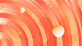 De achtergrond van de cirkelgradi?nt De vloeibare omcirkelde gradiënt geeft samenstelling gestalte Futuristische ontwerpaffiches  stock illustratie