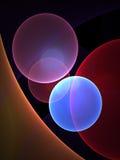 De Achtergrond van cirkels Royalty-vrije Stock Afbeeldingen