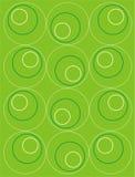 De achtergrond van cirkels Stock Illustratie