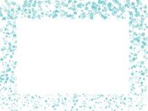 De achtergrond van cirkelsconfettien vector illustratie