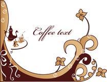 De achtergrond van Coffe Royalty-vrije Stock Foto