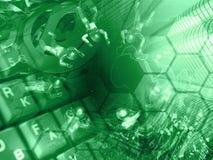 De achtergrond van de computer Royalty-vrije Stock Foto
