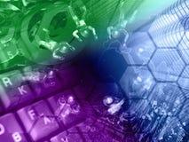 De achtergrond van de computer Royalty-vrije Stock Fotografie