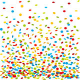 De achtergrond van confettien Royalty-vrije Stock Afbeelding