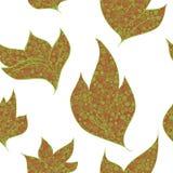 De achtergrond van contourbladeren Royalty-vrije Stock Afbeelding