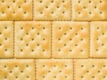 De achtergrond van crackers Royalty-vrije Stock Afbeeldingen