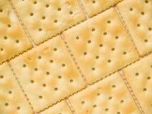 De achtergrond van crackers Royalty-vrije Stock Foto's