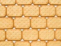 De achtergrond van crackers Stock Afbeelding
