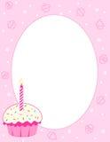 De achtergrond van Cupcake Royalty-vrije Stock Foto's
