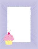 De achtergrond van Cupcake Royalty-vrije Stock Fotografie