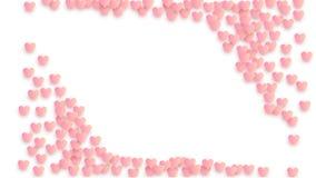 De Achtergrond van de de Dagvakantie van Valentine ` s Illustratie voor uw Ontwerp van de de Dagvakantie van Valentine ` s royalty-vrije stock afbeelding