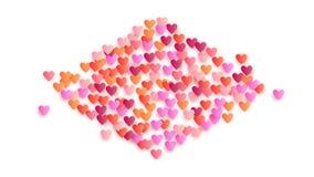 De Achtergrond van de de Dagvakantie van Valentine ` s Illustratie voor uw Ontwerp van de de Dagvakantie van Valentine ` s royalty-vrije stock afbeeldingen