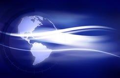 De Achtergrond van de aarde Stock Fotografie