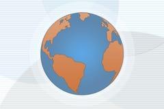 De Achtergrond van de aarde Royalty-vrije Stock Afbeeldingen