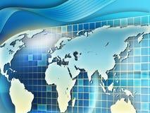 De achtergrond van de aarde vector illustratie