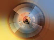 De achtergrond van de abstractiecirkel voor ontwerp royalty-vrije illustratie