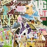 De Achtergrond van de Affiche van Grunge stock foto's