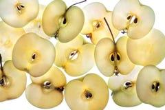 De achtergrond van de appel Royalty-vrije Stock Fotografie