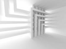 De achtergrond van de architectuur Binnenlands Ontwerpbehang Stock Foto's