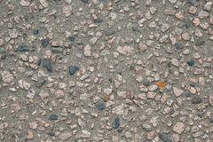 De achtergrond van de asfalttextuur met de toevoeging van steen Royalty-vrije Stock Fotografie