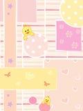 De achtergrond van de baby Stock Foto's