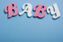 De achtergrond van de baby Royalty-vrije Stock Afbeeldingen
