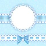 De achtergrond van de baby met frame Royalty-vrije Stock Foto's