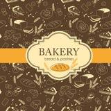 De achtergrond van de bakkerij Royalty-vrije Stock Afbeelding