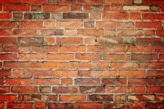 De achtergrond van de baksteen Stock Afbeelding