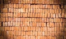 De achtergrond van de baksteen Royalty-vrije Stock Afbeeldingen