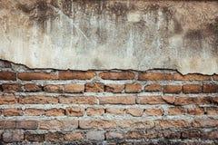 De achtergrond van de baksteen grunge muur stock foto's