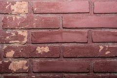 De Achtergrond van de bakstenen muurtextuur stock afbeeldingen