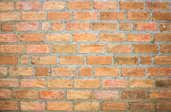 De Achtergrond van de bakstenen muurtextuur Royalty-vrije Stock Afbeeldingen