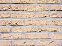 De Achtergrond van de bakstenen muurtextuur Stock Fotografie