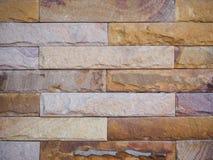 De achtergrond van de bakstenen muurtextuur grunge met vignetted Royalty-vrije Stock Afbeelding