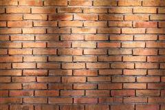 De achtergrond van de bakstenen muurtextuur voor binnenlands of buitenontwerp Stock Foto's