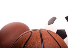 De Achtergrond van de Bal van sporten Stock Foto