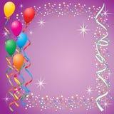 De Achtergrond van de ballon Royalty-vrije Stock Afbeeldingen