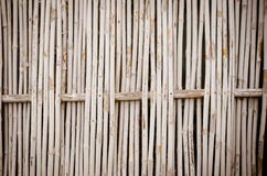 De achtergrond van de bamboemuur stock afbeelding