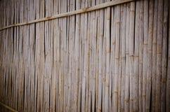 De achtergrond van de bamboemuur royalty-vrije stock foto
