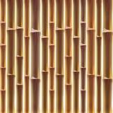 De achtergrond van de bamboeomheining Royalty-vrije Stock Foto's