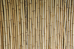 De achtergrond van de bamboeomheining stock afbeeldingen
