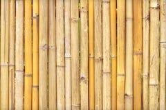De achtergrond van de bamboeomheining Royalty-vrije Stock Foto